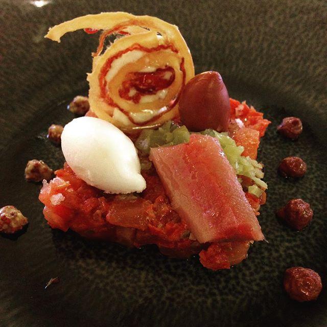 Tratar de tomate, anguila, rábano picante...