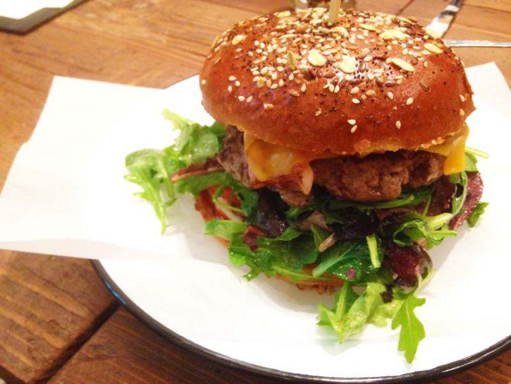the nook hamburguer