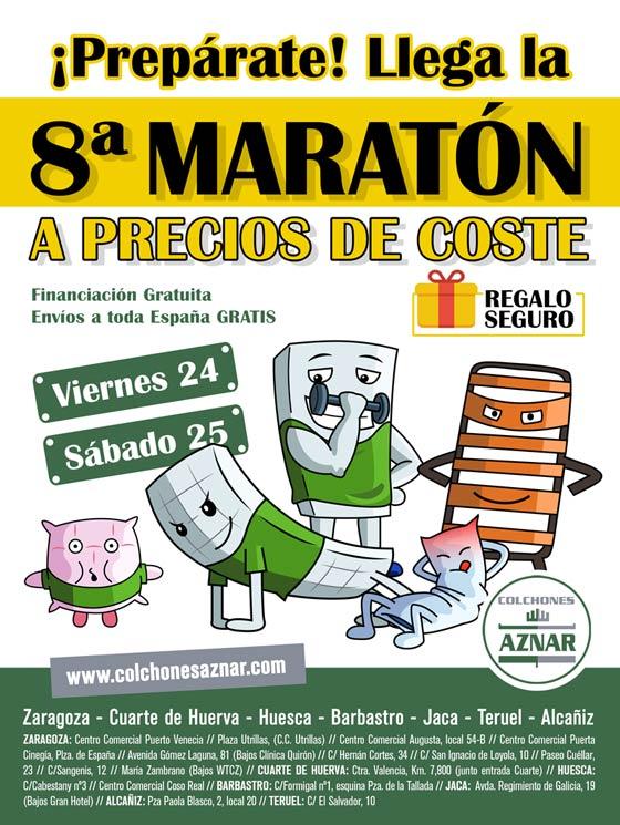 Maratón de Colchones Aznar